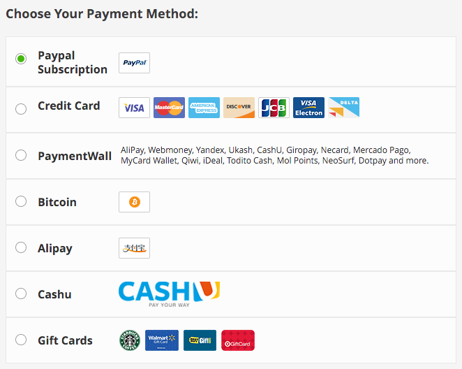 purevpn review payment options